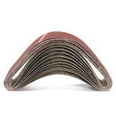 10個50x686mmサンディングベルト60120150240グリット酸化アルミニウムサンディングベルト研磨工具