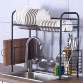 60/70/80/90 cm 304 Paslanmaz Çelik Mutfak Tabakları için Tek Katmanlı Raf Raf Depolama düzenleme