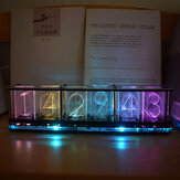 Geekcreit® Imitate Glow Clock Full Color RGB Glow Tube Clock LED Music Spectrum Kit