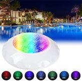 AC12-24V 12W RGB Natação LED Piscina Spa Luz Subaquática Luz IP68 Lâmpada À Prova D 'Água