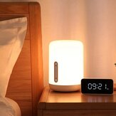 Xiaomi Mijia MJCTD02YL Colorful Bedside ضوء Table Lamp 2 bluetooth WiFi لمس التطبيق مراقبة Apple HomeKit Siri