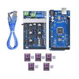 ترقية Ramps 1.6 Base On Ramps1.5 مراقبة Mainboard + Mega2560 R3 + 5Pcs DRV8825 Kit for Reprap 3D printer