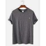 Camisetas sin mangas transpirables y ligeras de algodón de color sólido para hombre