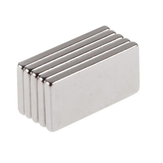 5pcs N50 20x10x2mm Neodymium Block Magnet Oblong Super Strong Rare Earth Magnets