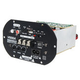 V608A 80W High Power Bas Car Hi-Fi Subwoofer Versterker Board Module TF USB 110V-220V