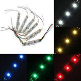 1 morceau 5050 module smd 3 LED la lumière de ficelle de bande rigide multicolorie dc imperméable 12v