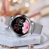 Bakeey MK20 Elegant Full Touch Screen Customized Dial Heart Rate Blood Pressure Monitor 15 Sport Modes Smart Watch