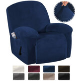 9 Colors Stretch Recliner Chair Covers Washable Fabric Non-slip Sofa Slipcovers Waterproof Seat Cover with Pocket