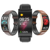 [Curved Screen]SENBONO T20 1.5'' Flexible AMOLED Full Touch Screen Wristband Heart Rate Blood Pressure Monitor 15 Sport Modes Weather Forecast Smart Watch