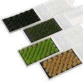 Modelo em pó de grama artificial Artesanato sintético DIY Acessórios para decorações de tapetes