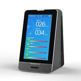 PM2.5 PM1.0 PM10 Temperatura Humedad Calidad del aire Monitor 4.3 Inch LED Pantalla Detector de gas inteligente HCHO TOVC