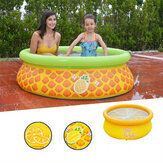 150x41cm Inflatable PVC Baby Swimming Pool Safety Children Bathing Tub Pool Round Summer Water Party