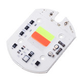 LUSTREON AC220V 30W Automatic RGB Color Changing LED COB Chip Light Source for Floodlight