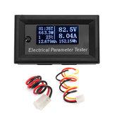 RIDEN® 7 en 1 33V 10A Probador de parámetros eléctrico digital OLED blanco multifunción blanco Amperímetro