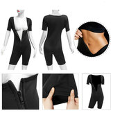 Womens Shapewear Full Body Sweat Shaper Dimagrante Idoneità Gym Sport Sauna Suit Vest
