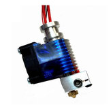 Geekcreit® 0.3mm Metal 3D Printer Extrusion Head Extruder Nozzle With Fan