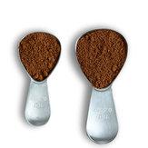 1pcscolherdecafécolher de aço inoxidável 15/30 ml colher de sopa de café açúcar Chá colher