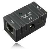 10M / 100Mbp Passive POE Power Over Ethernet RJ-45 Adattatore per montaggio a parete Splitter per CCTV IP fotografica Networking