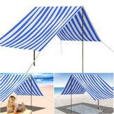 330x180cm Portable Beach Tent UV Sun Shade Shelter Canopy Outdoor Picnic Camping