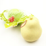 GigglesBread Squishy Pear 8.5cm Slow Rising Original Packaging Fruit Squishy Collection Gift Decor