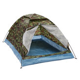 En plein air 1-2 personnes Camping tente imperméable coupe-vent UV parasol Canopy