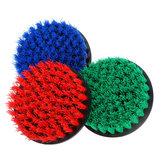 5İnçKırmızı/Mavi/ Yeşil Güç Fırçalayın Matkap Temizleme Fırça Fayans Derz Dolgu Makinesi Scrubber Küvet Temizleme Fırça