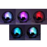 瑪瑙ストーンスライス常夜灯ランダムカラーミネラルロックジオードドルジースライスLEDナイトデスクテーブルランプクリスマスデコレーション用