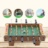 50x25x12.5cm Football Table Game Wooden Soccer Game Tabletop Foosball Sports Family Activities