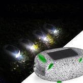 تعمل بالطاقة الشمسية LED حجر مسار أرضي ضوء خارجيّ ضد للماء حديقة منظر طبيعيّ فناء فناء درب مصباح