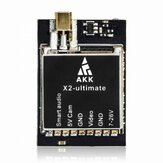 AKK X2-ultimate International 25mW / 200mW / 600mW / 1200mW 5.8GHz 37CH FPV Trasmettitore con Smart Audio