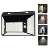 316LED 3000LM Solar Garden Light Motion Sensor Waterproof Wall Lamp for Garden Patio Outdoor Light