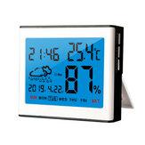 Miernik wilgotności do pomiaru temperatury w cyfrowym wyświetlaczu LCD Higrometr wewnętrzny