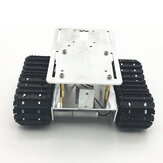 DIY RC Robot Chassis Tank Car Tracking Obstacle Avoidance With Crawler Set