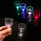 12 STKS LED Light-up Cups 50 ML Knipperende Glow Glazen Mokken Voor Home Party Bruiloft Decor