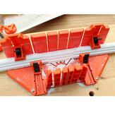 マイターソーキャビネット多機能木工クランプマイターソーボックスウッド石膏斜めアングル切削工具