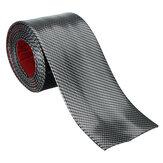 Protector de fibra de carbono para coche Placa Panel de cubierta de umbral de puerta Protector de escalón