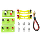 Children Physical Experiment Model Kit Lab Electricity Circuit Magnetism Learning Supply Model