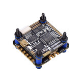 30.5x30.5MM JHEMCU F722BT Dual F722 F7 Bluetooth Flight Controller OSD e 40A 3-6S Blheli_32 Brushless ESC compatível DJI FPV Air Unit para RC Drone FPV Racing