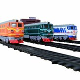 Simulation Electric Rail Car Model Toy Track Accessories Sandbox General Scene Railroad Crossing Cave Iron Bridge Indoor Toys