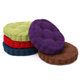 Round Corduroy Chair Pad Cushion Cover Thicker Patio Car Office Seat Sofa Tatami Mat