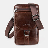 Men Vintage Shoulder Bag Crossbody Bag Waist Bag Phone Bag