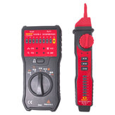 UYIGAO UA668 Multi-function Telephone Wire Finder Line Finder Network Short-circuit Cable Tester Alligator Clip Test Line Tester
