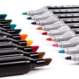 Conjunto de Canetas Marcadores TouchcooL MM02 30/40/60/80 Marcador de Desenho de Animação em Cores Dual Head Drawing Art Escova Canetas