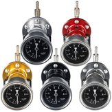 Universal Adjustable Aluminum Auto Pressure Regulator Pressure Gauge Tools Kit