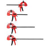 4/6/12/18 Inch Plástico F Abrazadera Soporte reforzado de liberación rápida de madera paralela herramienta