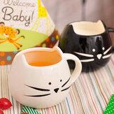 Creative Seramik Kedi Hayvan Kahve Kupası Kupa Suyu Süt Kupası Çiftler Lovers Kupası
