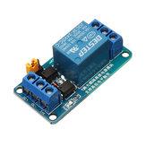 BESTEP 1 kanałowy moduł przekaźnika 24 V, wyzwalacz wysokiego i niskiego poziomu dla