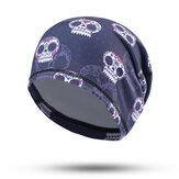 Męskie Unisex Drukuj rower motocyklowy Turban Hat