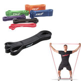Black Fitness Elastic Belt Resistance Bands Strength Training Exercise Pulling Strap
