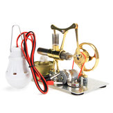 Single Cylinder Stirling Engine Model Alloy Material Developmental Science Toy
